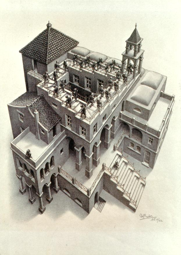 Perspectief Escher